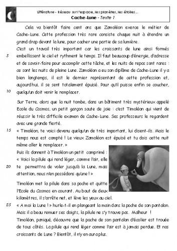 """Fabulous Lire """"Cache-Lune"""" au CE1 - Kalolanéa HJ84"""